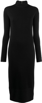 Agnona slim-fit sweater dress