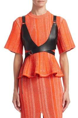 Proenza Schouler Leather Bustier