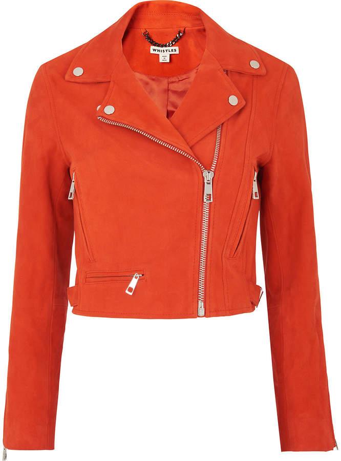 Buy Rose Suede Crop Jacket!