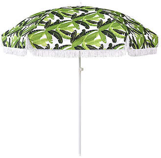 Jungle Beach Umbrella - Green/White - ASTELLA