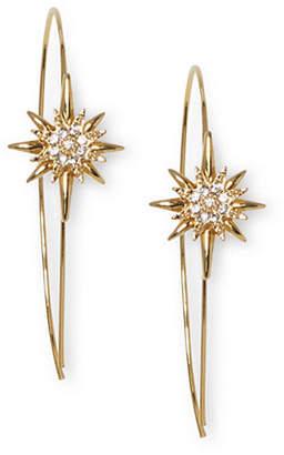 Vince Camuto Celestial Skies Goldtone Star Wire Earrings