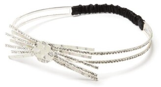 Maison Michel Doris Crystal Embellished Tiara - Womens - Crystal