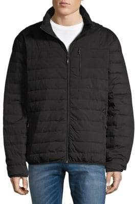 Hawke & Co Stand Collar Puffer Jacket