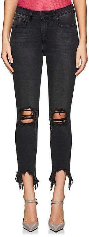 Women's High Line Distressed Skinny Jeans
