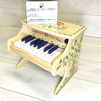 Crafts4Kids Wooden Toy Electric Piano