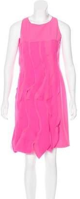 Bottega Veneta Ruffled Knee-Length Dress