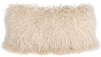 Le-Coterie Tibetan Lumbar Pillow - Beige