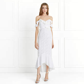 Rachel Zoe Chloe Off-the-Shoulder Garden Lace Dress
