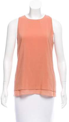 Cédric Charlier Sleeveless Crew Neck Top