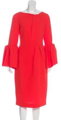 Roksanda Wool Midi Dress wool Wool Midi Dress