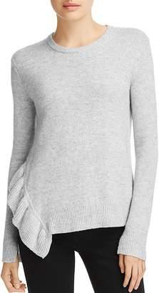 Derek Lam 10 Crosby Asymmetric Ruffle Sweater