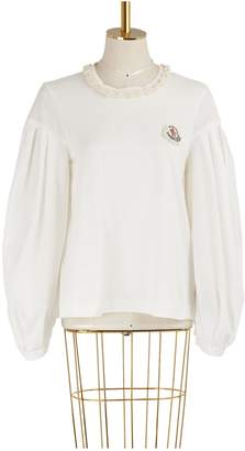 Simone Rocha Moncler Genius 4 Moncler taffeta sleeve sweater