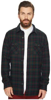 Original Penguin Plaid Wool Blend Unlined Jacket Men's Coat