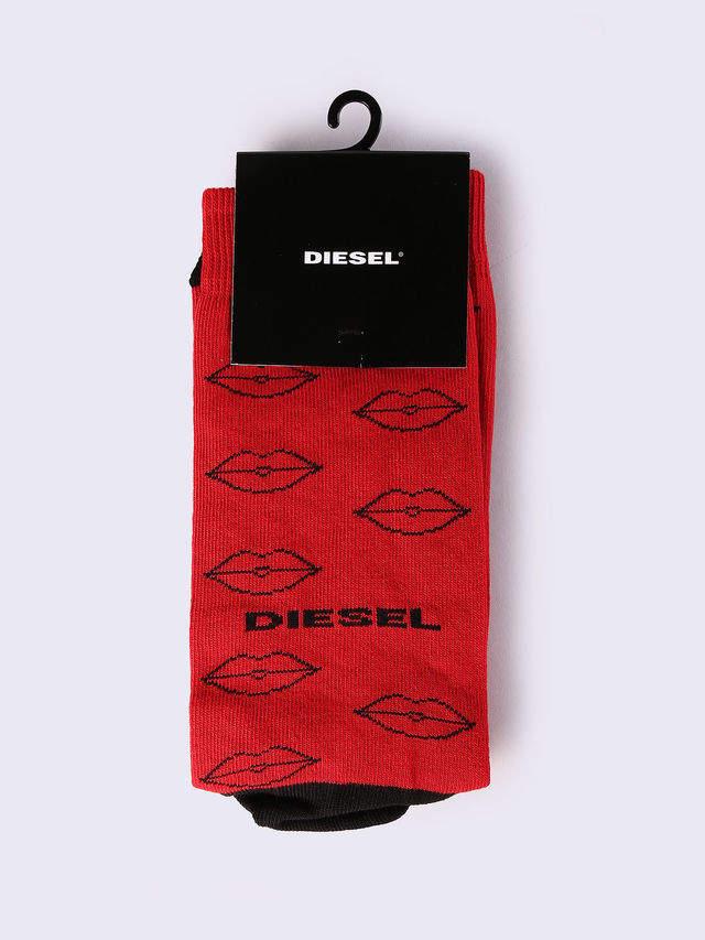 Diesel Socks 0WAQV - Red - M