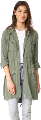 BB Dakota Jack by BB Dakota Frank Army Parka $115 thestylecure.com