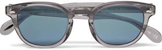 Oliver Peoples Sheldrake D-Frame Acetate Sunglasses