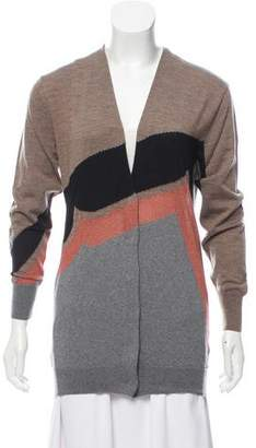 Dries Van Noten Wool Button-Up Cardigan