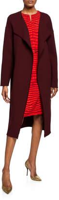 Akris Gaspar Open-Front Top Coat