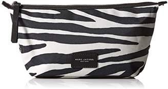 Marc Jacobs Large Landscape Zebra Printed Biker Cosmetics Case