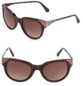 Balmain 53MM Oval Sunglasses