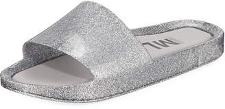 Pool' Melissa Shoes Beach Metallic Pool Slide Sandals