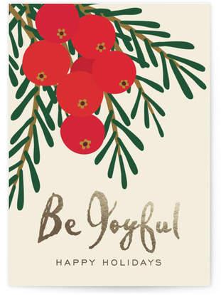 Joyful Holidays Self-Launch Cards