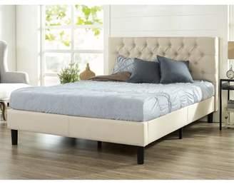 Zinus Misty Upholstered Traditional Tufted Platform Bed, Multiple Sizes