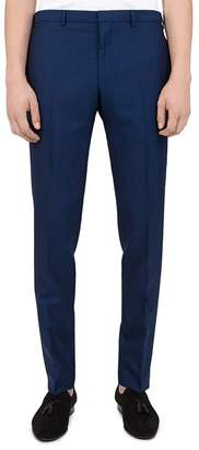 The Kooples Stiff Wool Slim Fit Trousers