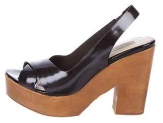 Stella McCartney Platform Slingback Sandals