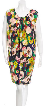 Paul Smith Sleeveless Printed Dress $85 thestylecure.com
