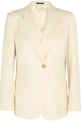 Maison Margiela - Wool-blend Blazer - Cream $1,660 thestylecure.com