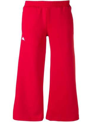 Kappa cropped track pants