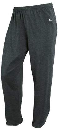 Russell Athletic Men's Big and Tall Cotton Jersey Pant with Pockets