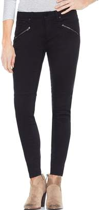 Vince Camuto D-Luxe Twill Moto Jeans