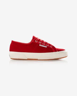 Express Superga Velvet Sneakers