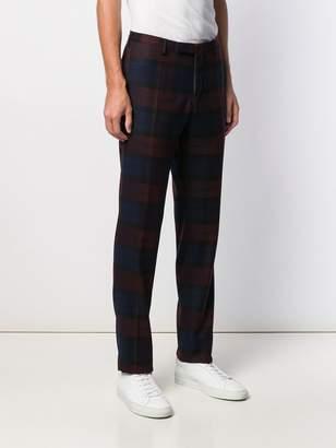 Incotex tartan tailored trousers