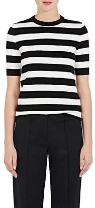 Proenza Schouler Women's Striped Silk-Blend Top