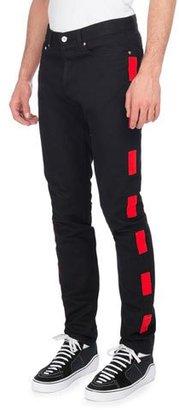 Givenchy Dash-Stripe Skinny Jeans $685 thestylecure.com