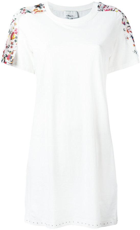 3.1 Phillip Lim3.1 Phillip Lim floral short-sleeved T-shirt dress