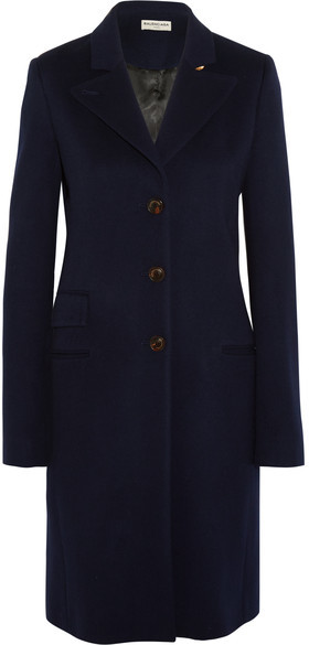 Balenciaga  Balenciaga - The Classic Cashmere Coat - Midnight blue