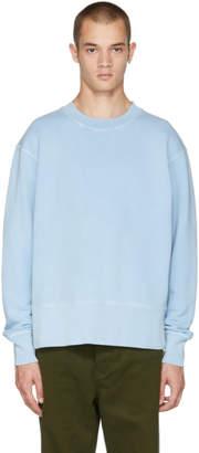 Acne Studios Blue Faise Wash Sweatshirt