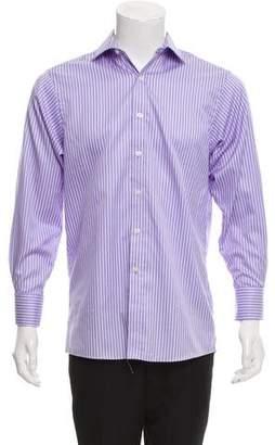 MICHAEL Michael Kors Striped French Cuff Shirt