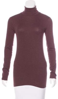 Brunello Cucinelli Long Sleeve Turtleneck Top