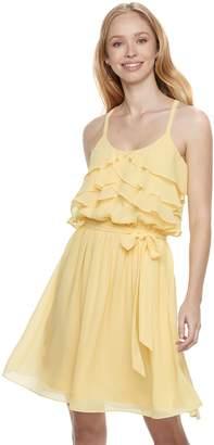 Disney Princess Juniors' Ruffle Fit & Flare Dress