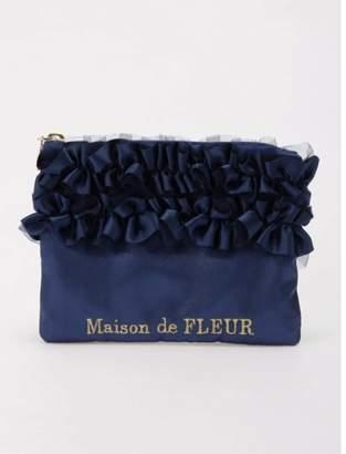 Maison de Fleur (メゾン ド フルール) - メゾンドフルール ・ダブルフリルティッシュケース
