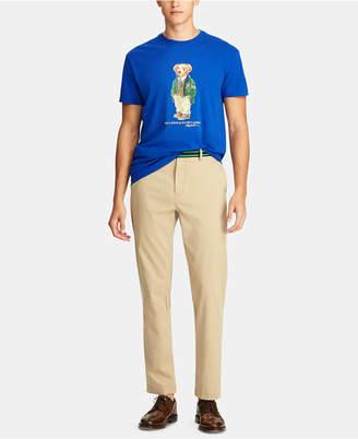 Polo Ralph Lauren Men Big & Tall Classic Fit Polo Bear Cotton T-Shirt