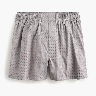J.Crew Grey dotted boxers