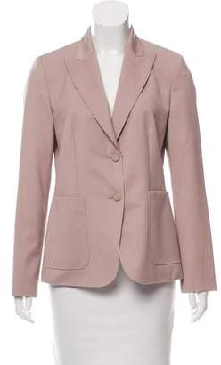 Max Mara Virgin Wool Peak-Lapel Blazer w/ Tags