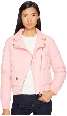 Moschino Moto Puffer Jacket Women's Coat
