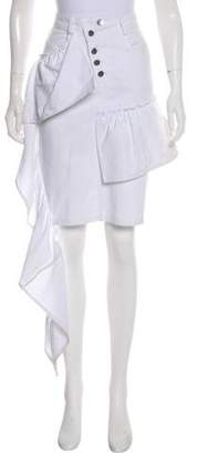 Collina Strada Denim Maxi Skirt